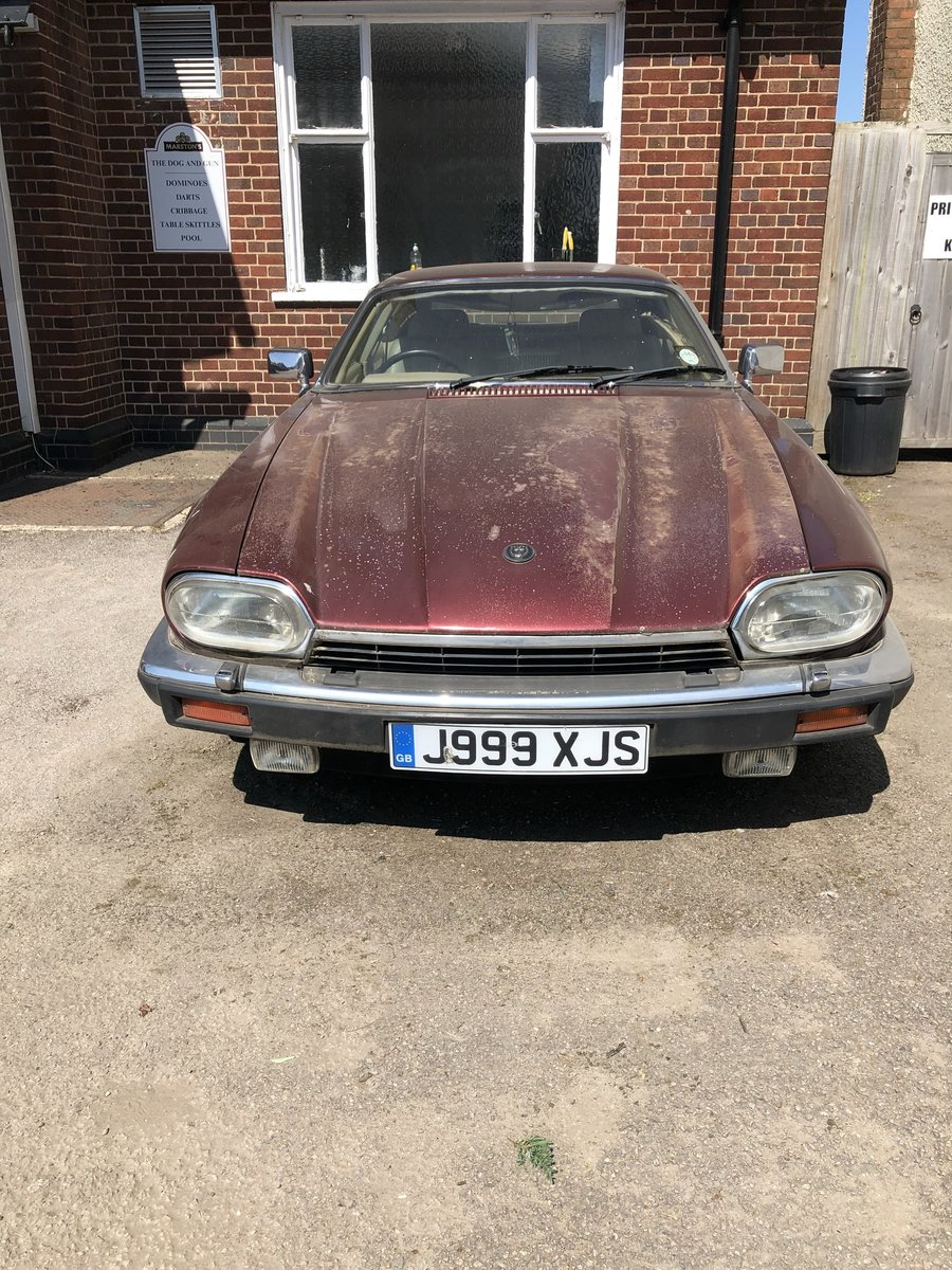 1991 Jaguar XJS  RARE NUMBER PLATE: J999 XJS For Sale (picture 2 of 5)