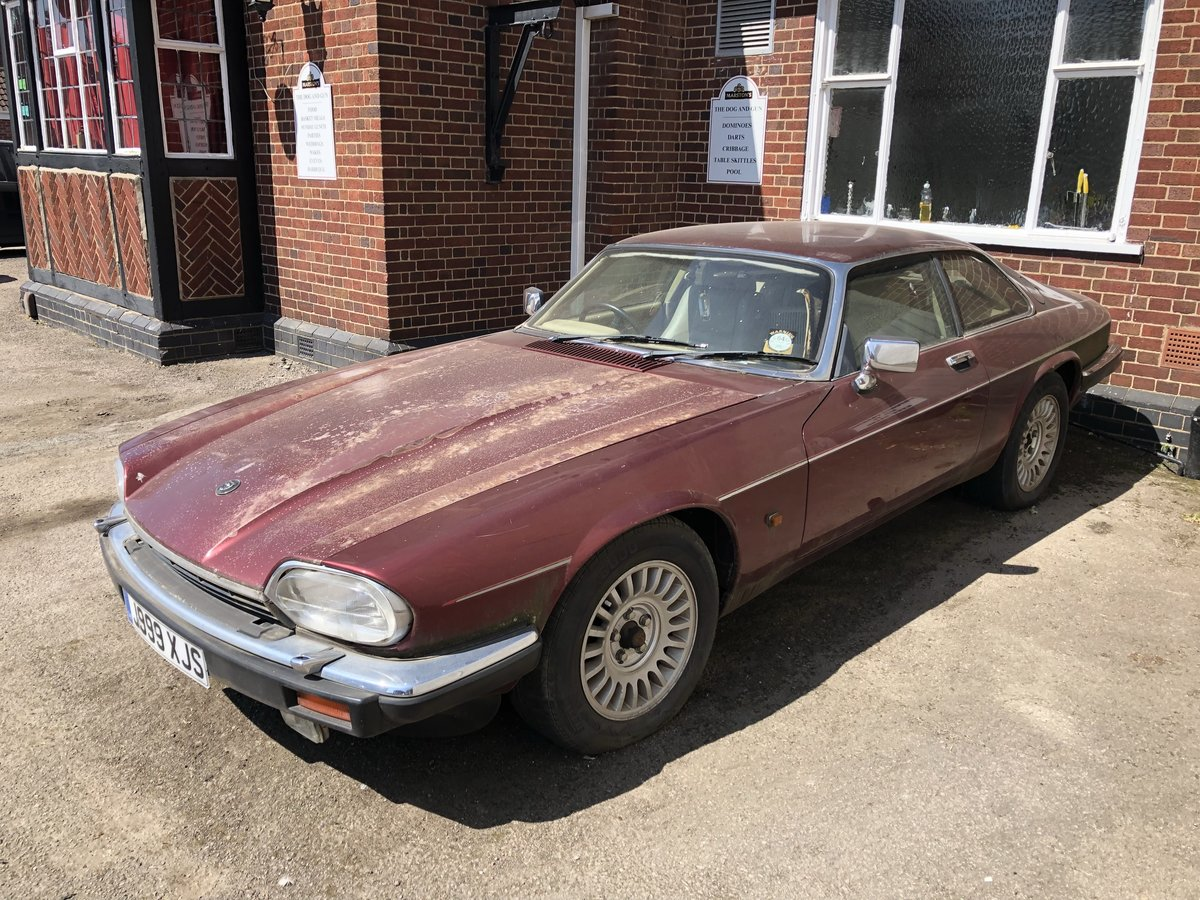 1991 Jaguar XJS  RARE NUMBER PLATE: J999 XJS For Sale (picture 3 of 5)