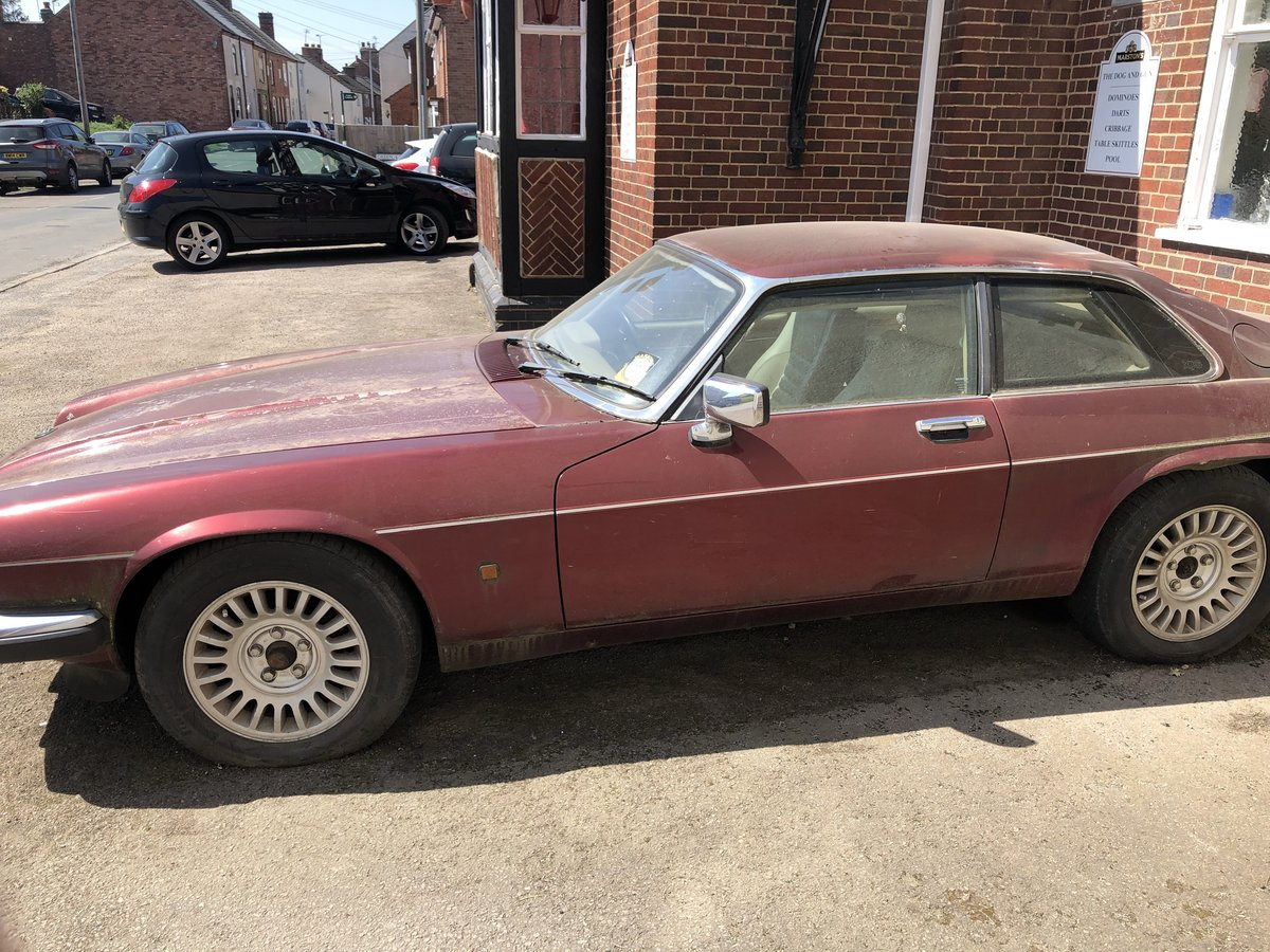 1991 Jaguar XJS  RARE NUMBER PLATE: J999 XJS For Sale (picture 5 of 5)