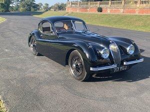 1953 Jaguar XK120fhc