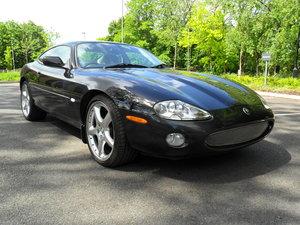 """2002 Jaguar XK8 Black-quartz leather-20"""" detroit alloys For Sale"""