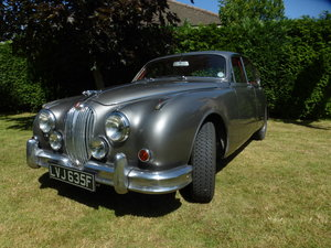 Jaguar Mk2 2.4 manual overdrive