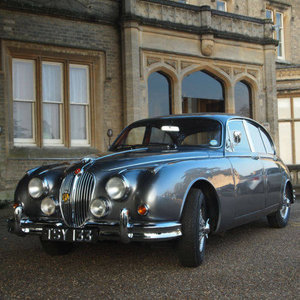 Jaguar MK11 3.4 Manual 4 Speed With Overdrive.