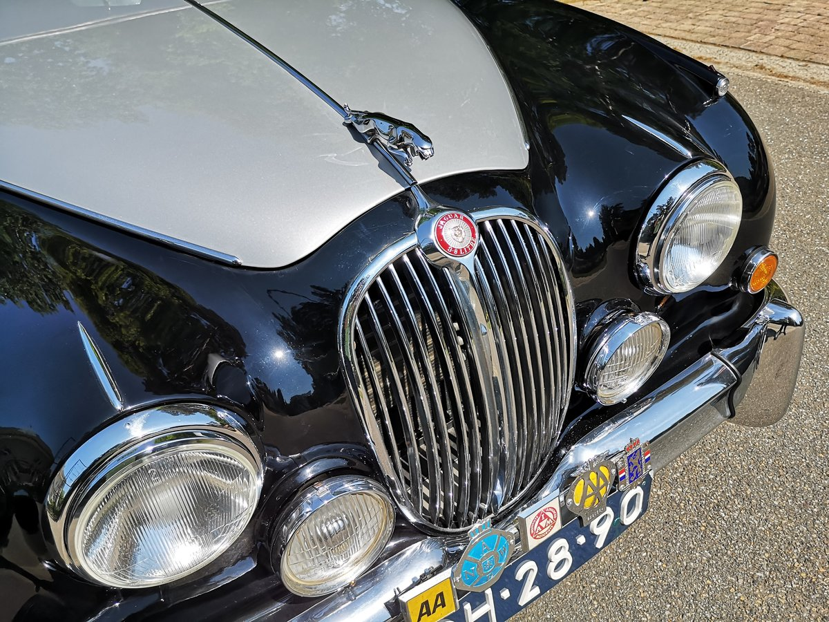 1961 JAGUAR MK2 3.8 POWERSTEERING AUTOMATIC For Sale (picture 4 of 6)