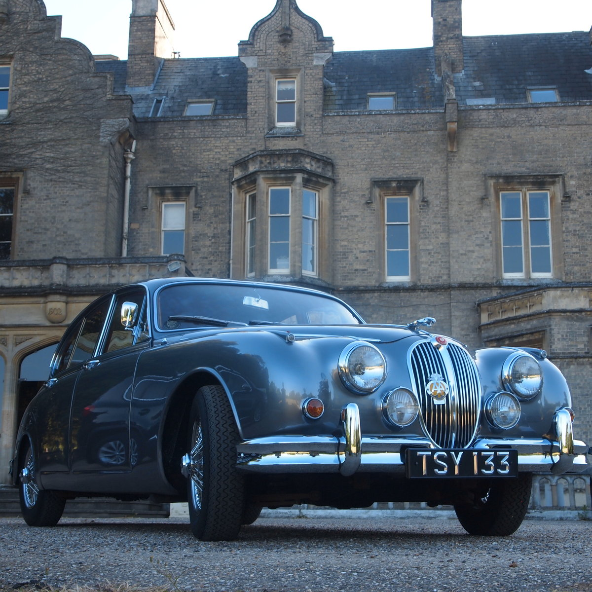 1961 Jaguar mk 2 Manual 3.4 Four Speed With Overdrive. For Sale (picture 1 of 6)