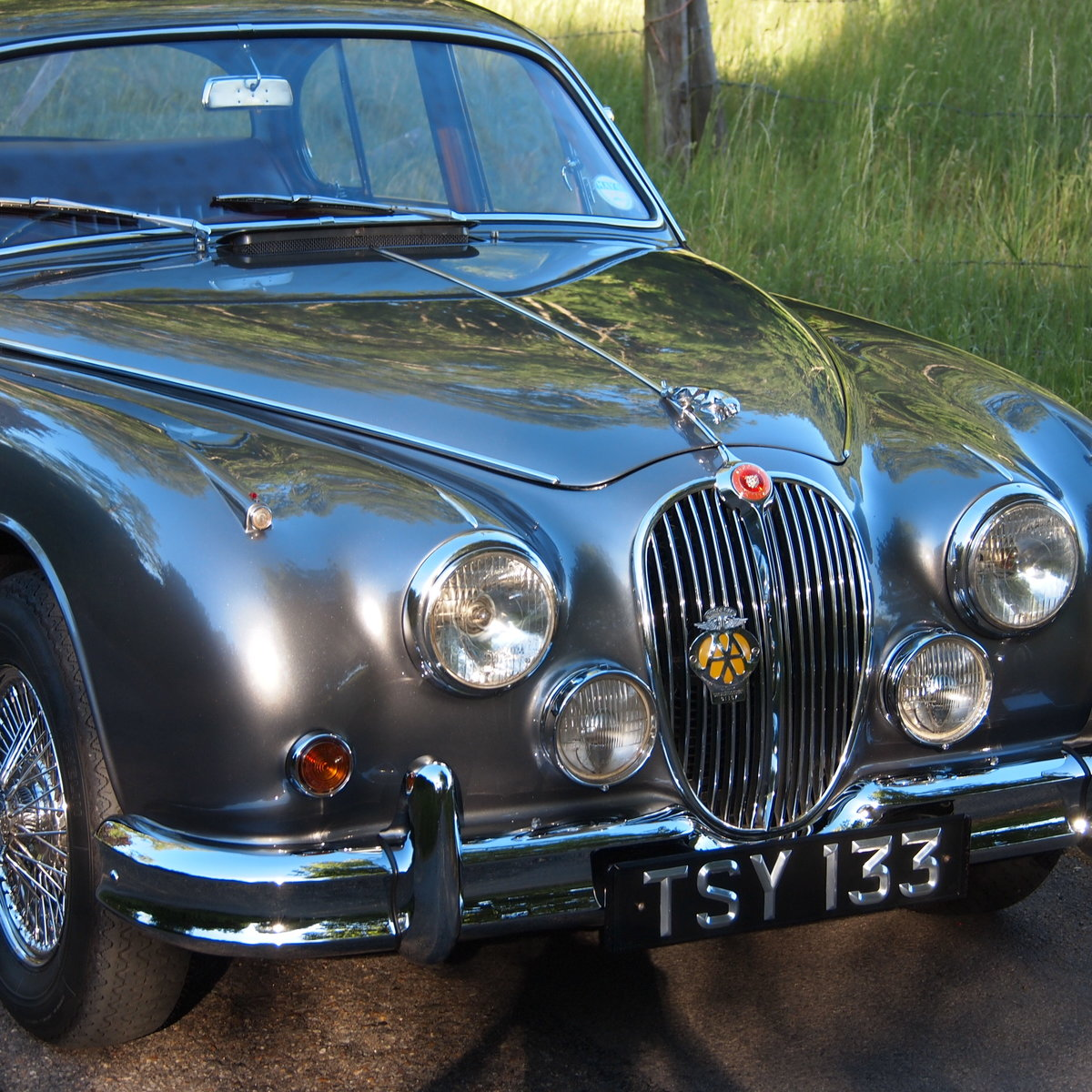 1961 Jaguar mk 2 Manual 3.4 Four Speed With Overdrive. For Sale (picture 3 of 6)