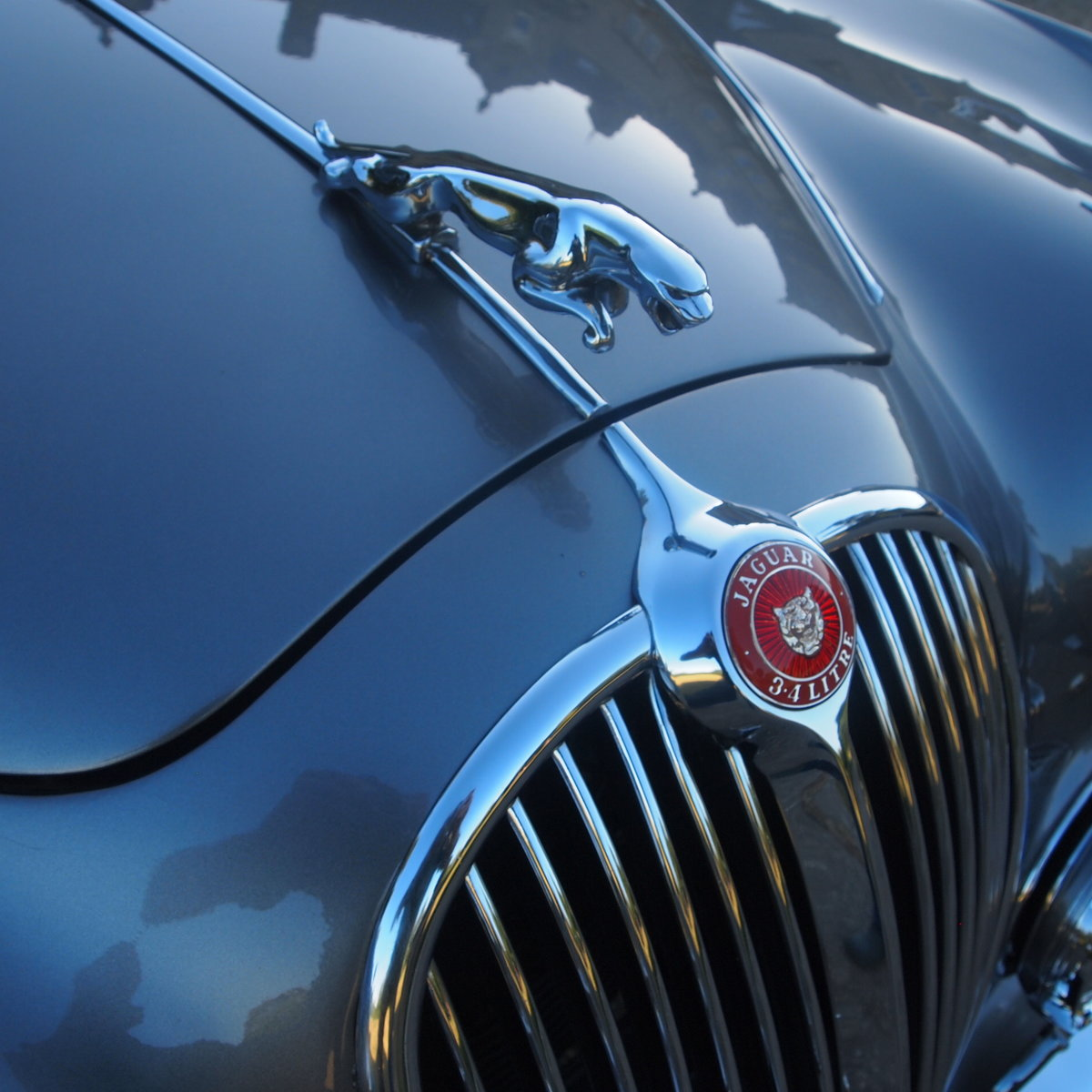 1961 Jaguar mk 2 Manual 3.4 Four Speed With Overdrive. For Sale (picture 4 of 6)