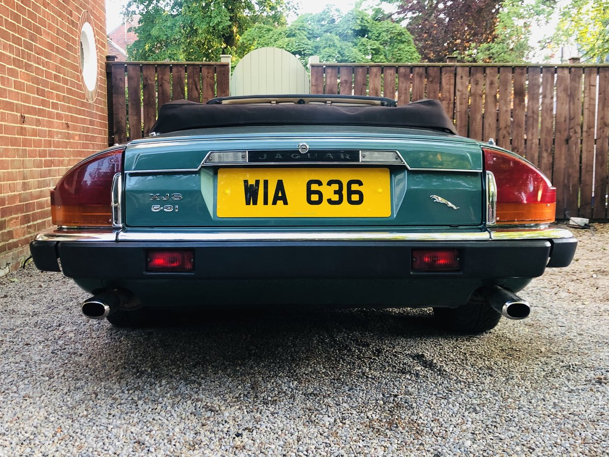 1988 JAGUAR XJS XJ-S V12 CONVERTIBLE - MANUAL GEARBOX  For Sale (picture 3 of 6)