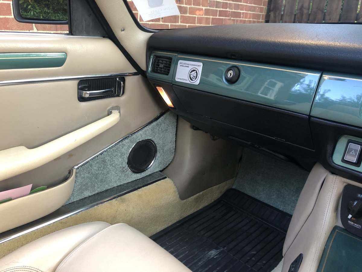 1988 JAGUAR XJS XJ-S V12 CONVERTIBLE - MANUAL GEARBOX  For Sale (picture 5 of 6)