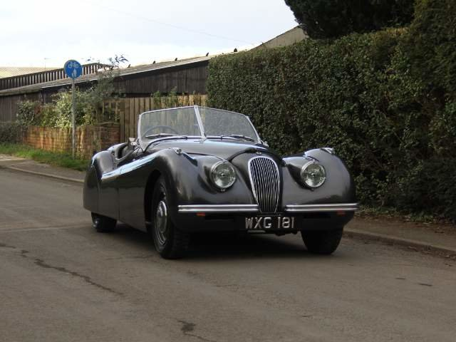 1950 Very early Jaguar XK120 OTS RHD SOLD (picture 1 of 19)