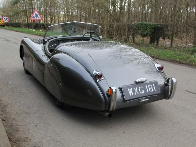 1950 Very early Jaguar XK120 OTS RHD SOLD (picture 4 of 19)