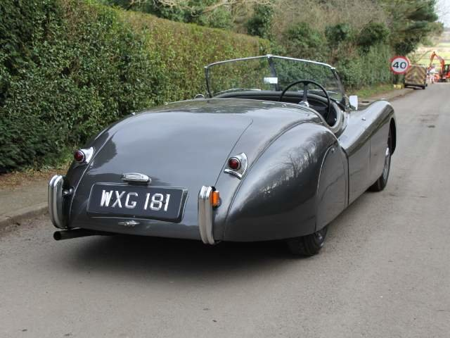 1950 Very early Jaguar XK120 OTS RHD SOLD (picture 6 of 19)