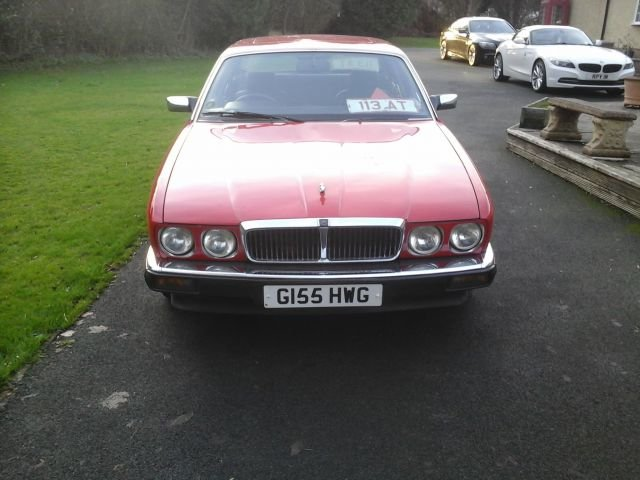 1989 JAGUAR XJ6 3.6 AUTOMATIC 4 DOOR For Sale (picture 1 of 4)