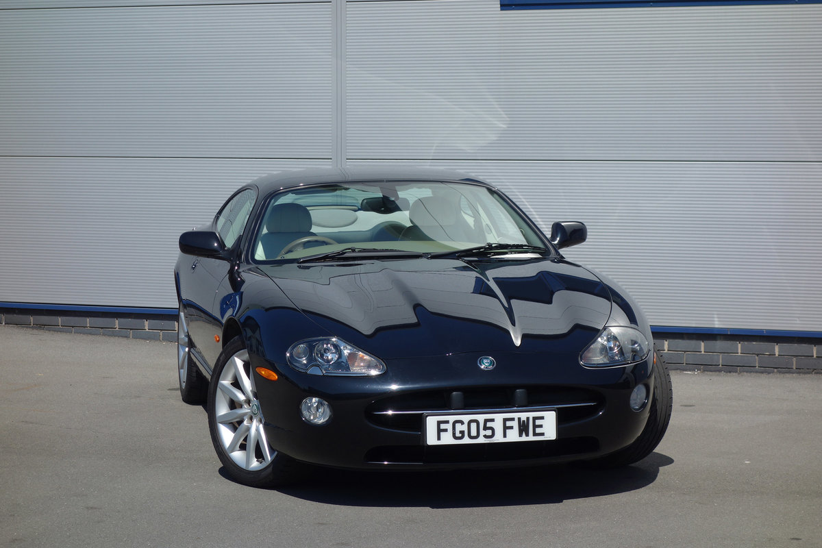 2005 Jaguar 4.2 Coupe Superb Classic FSH Big Spec, Only 48000m For Sale (picture 1 of 6)