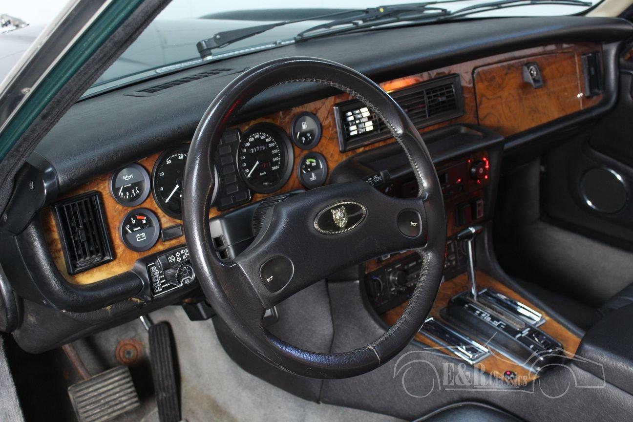 Jaguar XJ12 Series III 1991 British Racing Green For Sale (picture 3 of 6)