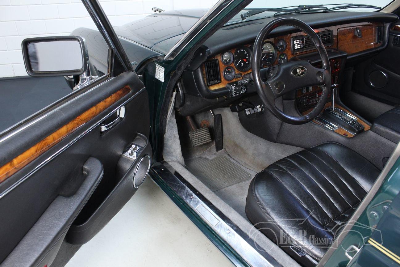 Jaguar XJ12 Series III 1991 British Racing Green For Sale (picture 5 of 6)