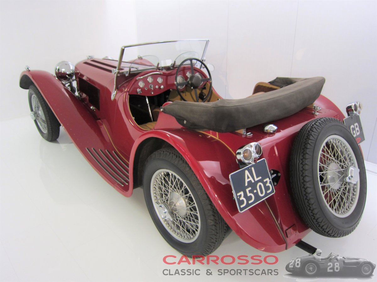 Jaguar SS100 3.5 1936 a very beautiful car For Sale (picture 2 of 6)