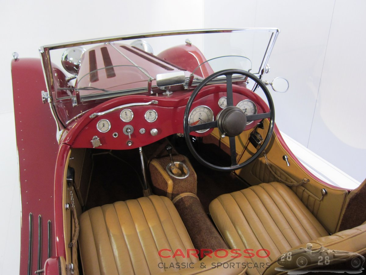 Jaguar SS100 3.5 1936 a very beautiful car For Sale (picture 3 of 6)