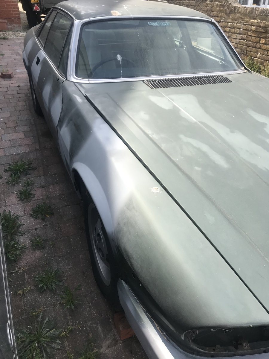 1984 Jaguar XJS Excellent  Restoration Project For Sale (picture 1 of 6)