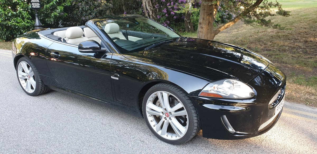 2009 XK 5.0 PORTFOLIO CONVERTIBLE  For Sale (picture 1 of 5)