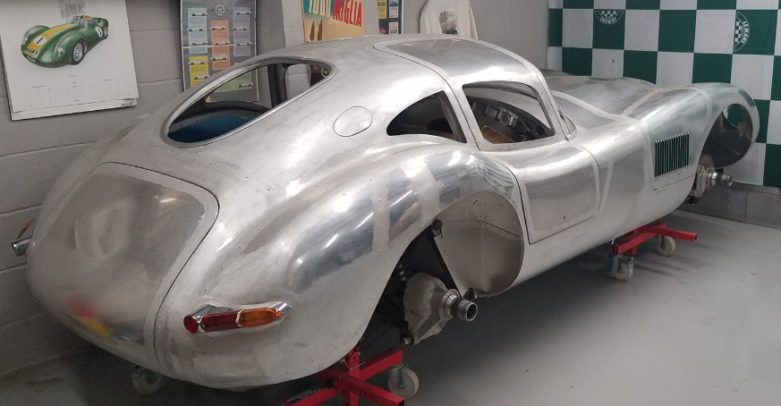 1955 Jaguar C-TYPE Gullwing Coupe  For Sale (picture 2 of 3)