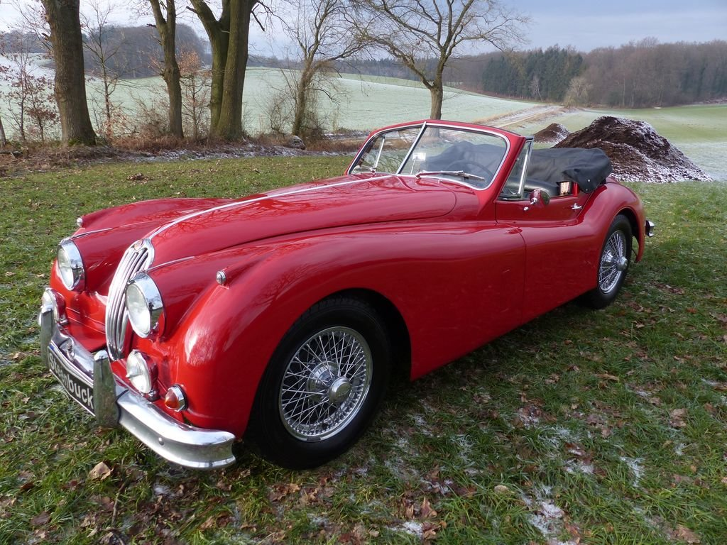 1957 Jaguar XK 140 DHC - technical highlight of the 50s For Sale (picture 1 of 6)