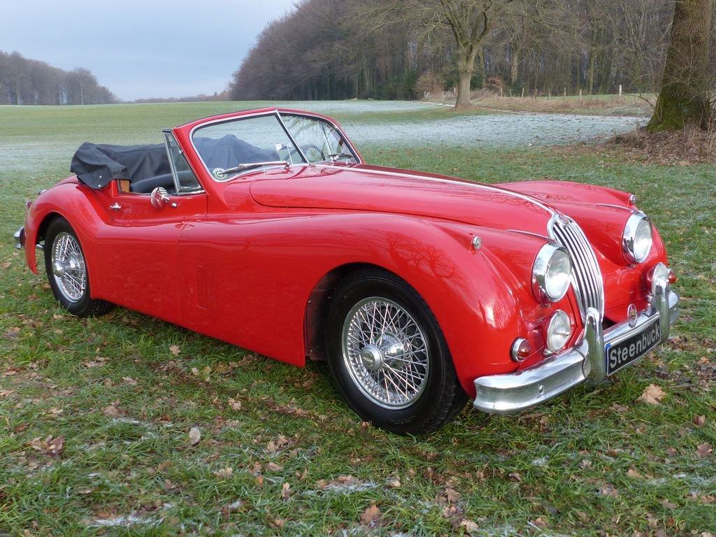1957 Jaguar XK 140 DHC - technical highlight of the 50s For Sale (picture 2 of 6)