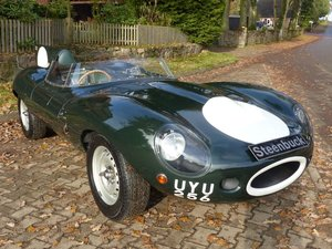 1974 Jaguar D-Type - high-end replica