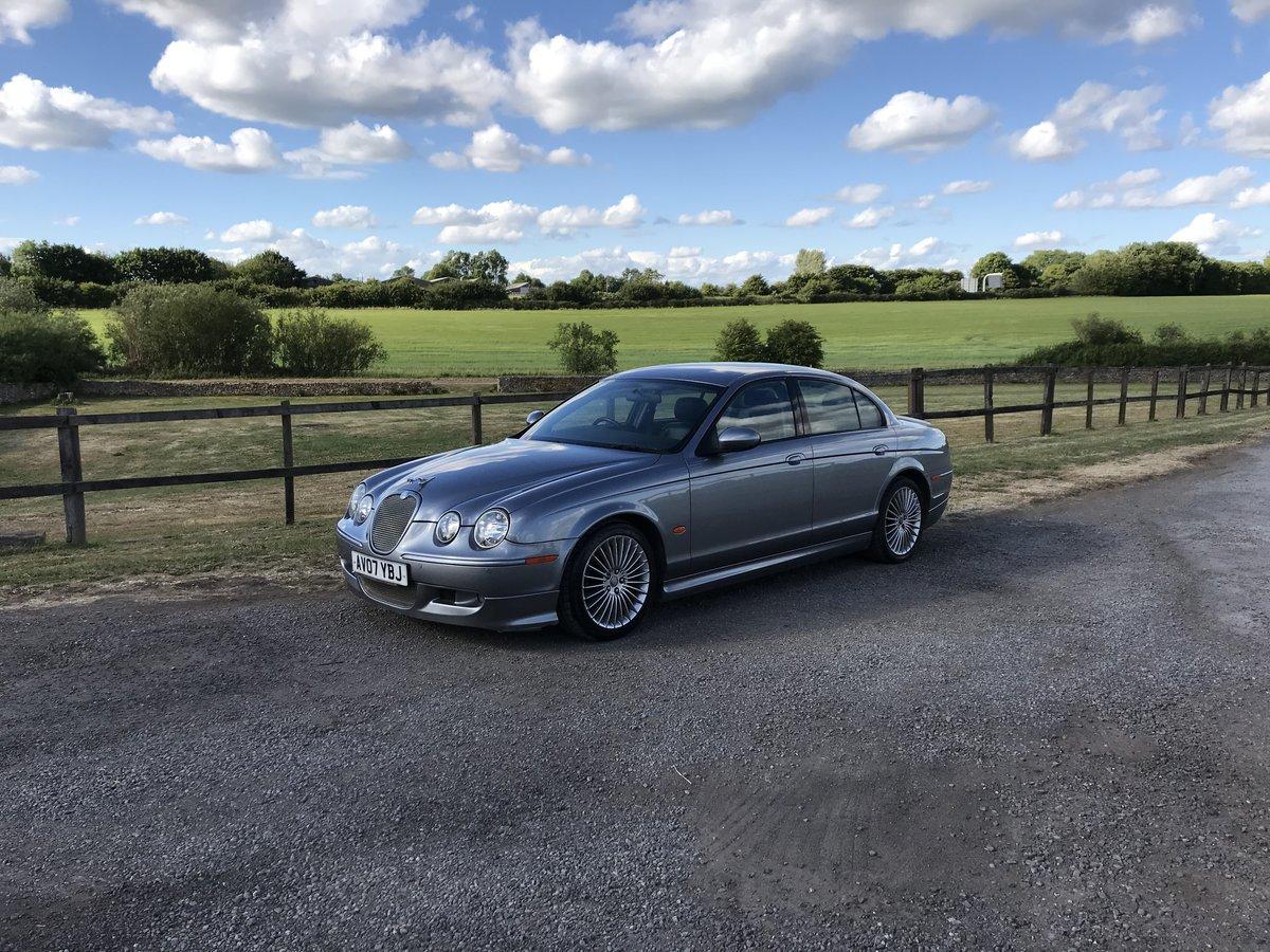 2007 Jaguar S type 2.7 diesel For Sale (picture 1 of 6)