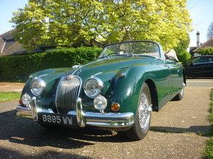 1960 Jaguar xk150 s  drophead  full body off resto