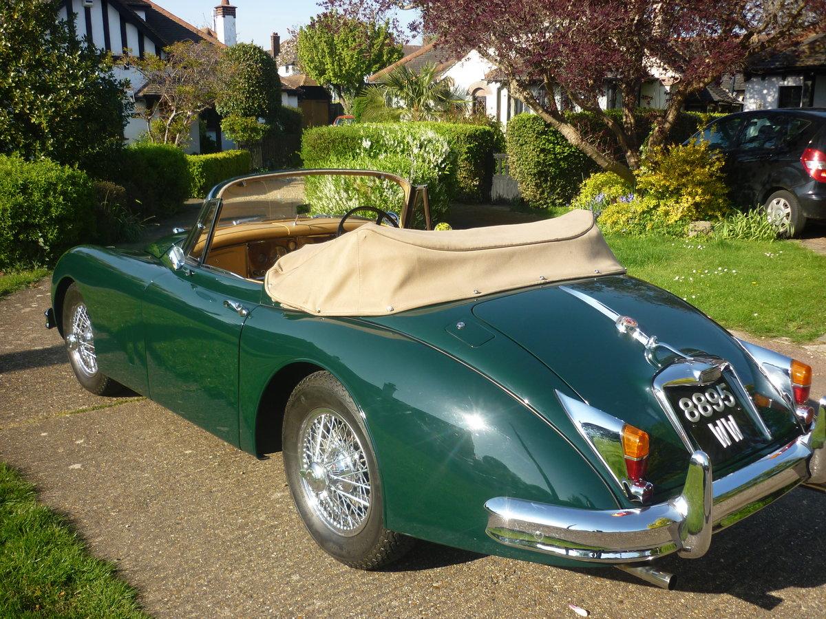 1960 Jaguar xk150 s  drophead  full body off resto For Sale (picture 1 of 6)