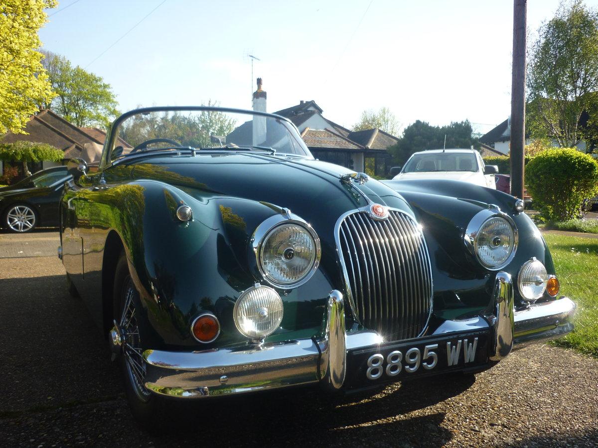 1960 Jaguar xk150 s  drophead  full body off resto For Sale (picture 3 of 6)
