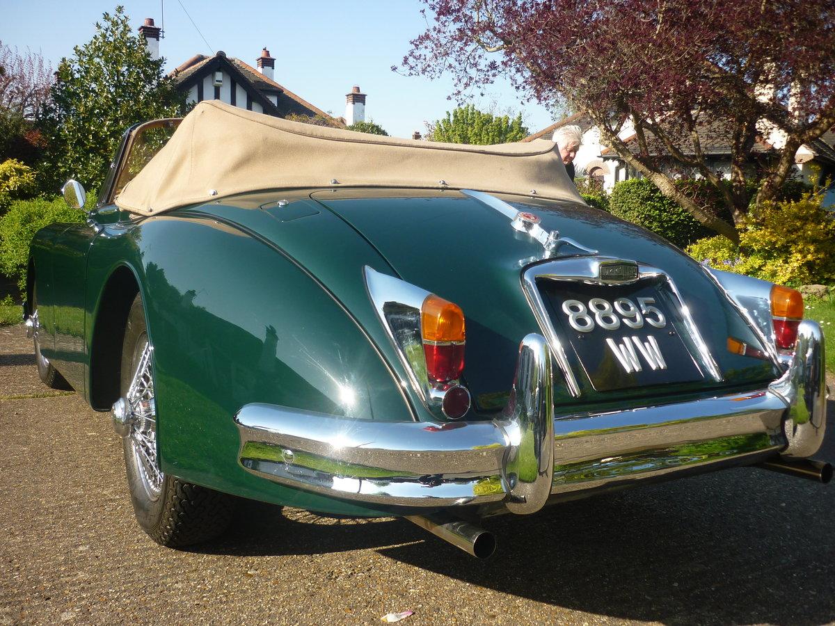 1960 Jaguar xk150 s  drophead  full body off resto For Sale (picture 4 of 6)