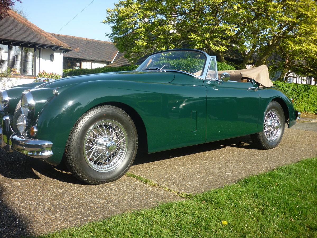 1960 Jaguar xk150 s  drophead  full body off resto For Sale (picture 5 of 6)