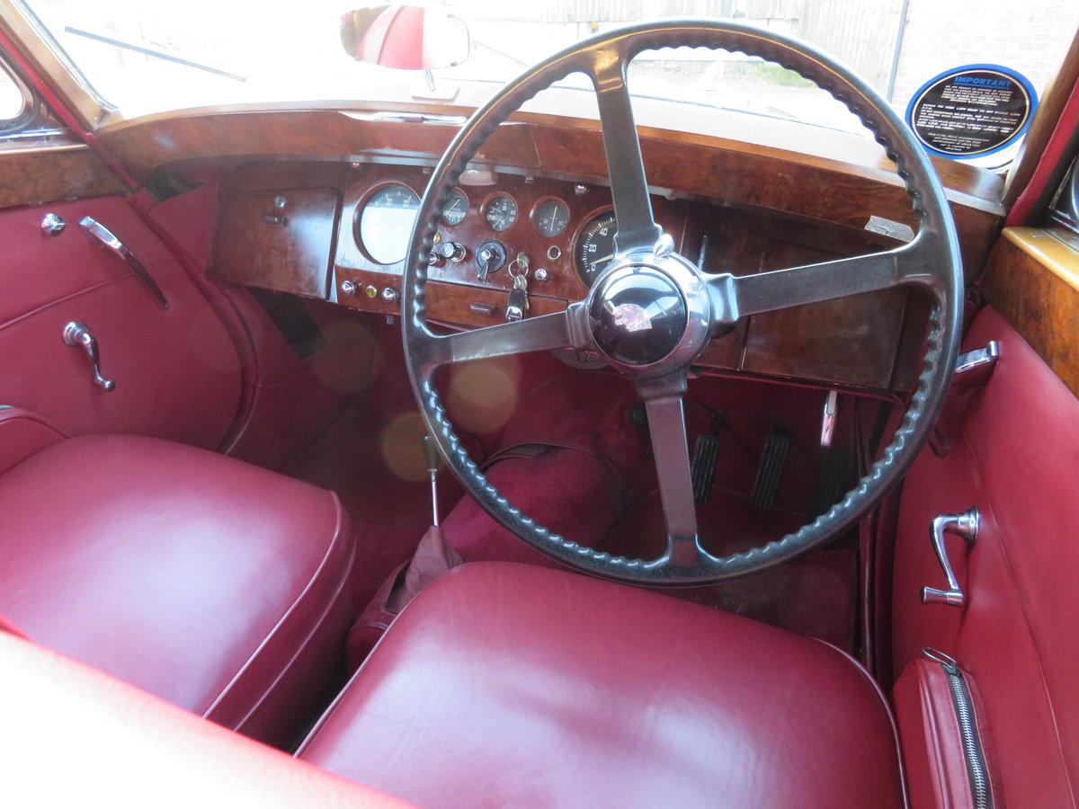 1950 JAGUAR MKV SALOON 3.5 COVERED 57K MILES BELEIVED GENUINE For Sale (picture 2 of 6)