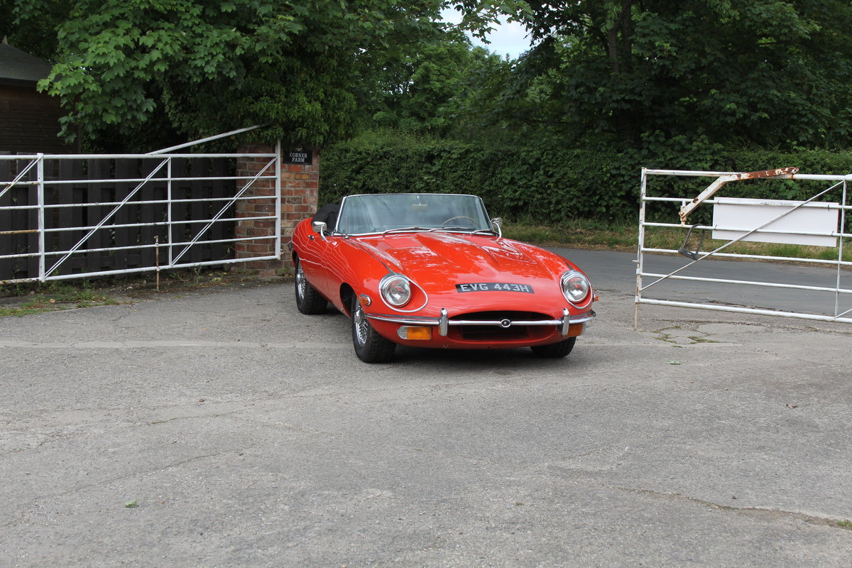 1970 Jaguar E-Type Series II Roadster - Matching numbers, lovely  For Sale (picture 1 of 20)