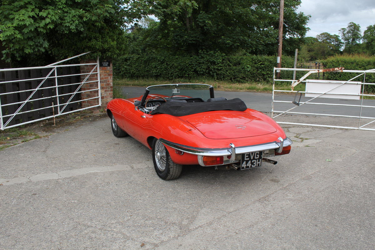 1970 Jaguar E-Type Series II Roadster - Matching numbers, lovely  For Sale (picture 4 of 20)