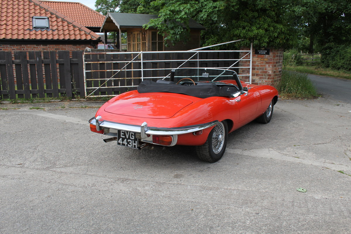 1970 Jaguar E-Type Series II Roadster - Matching numbers, lovely  For Sale (picture 6 of 20)