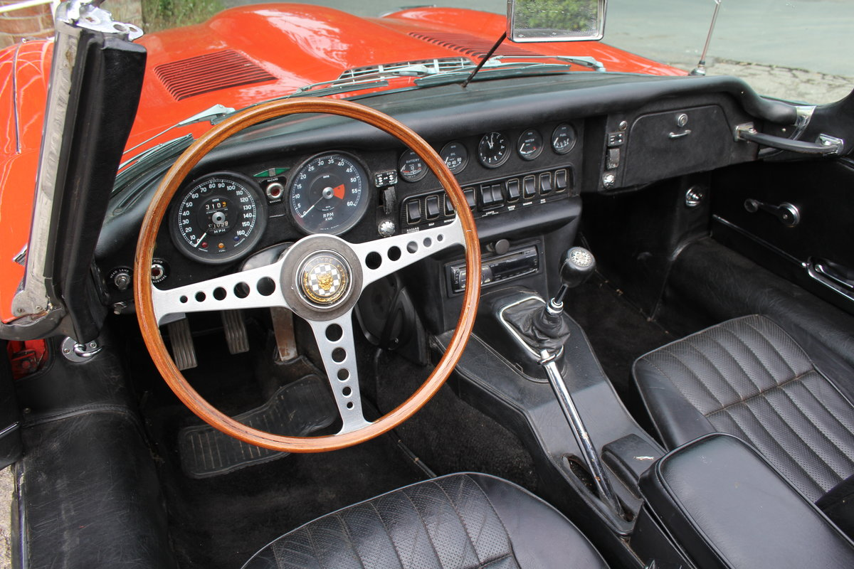 1970 Jaguar E-Type Series II Roadster - Matching numbers, lovely  For Sale (picture 7 of 20)
