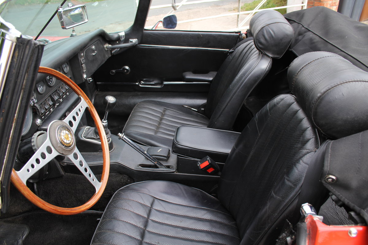 1970 Jaguar E-Type Series II Roadster - Matching numbers, lovely  For Sale (picture 8 of 20)