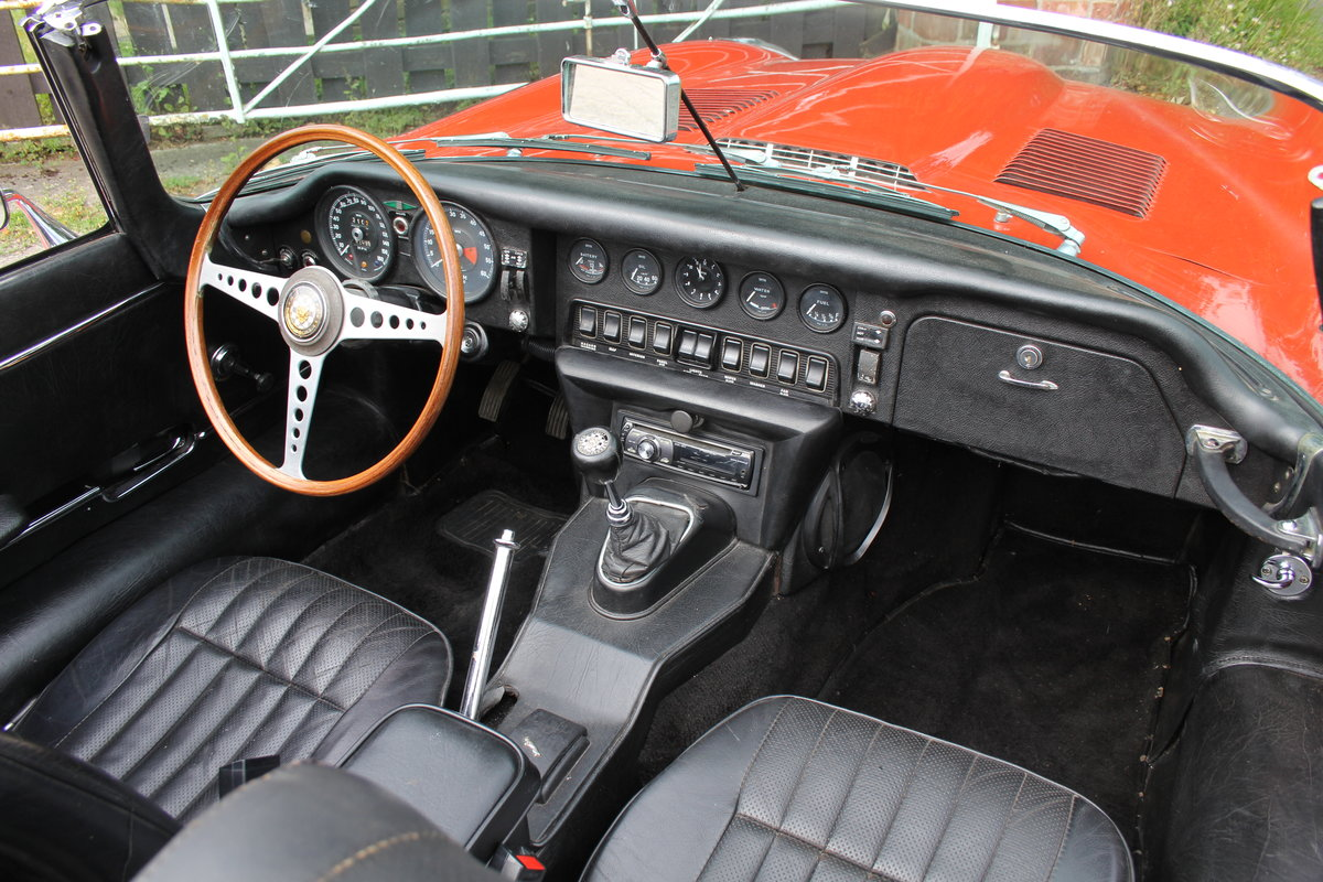 1970 Jaguar E-Type Series II Roadster - Matching numbers, lovely  For Sale (picture 10 of 20)