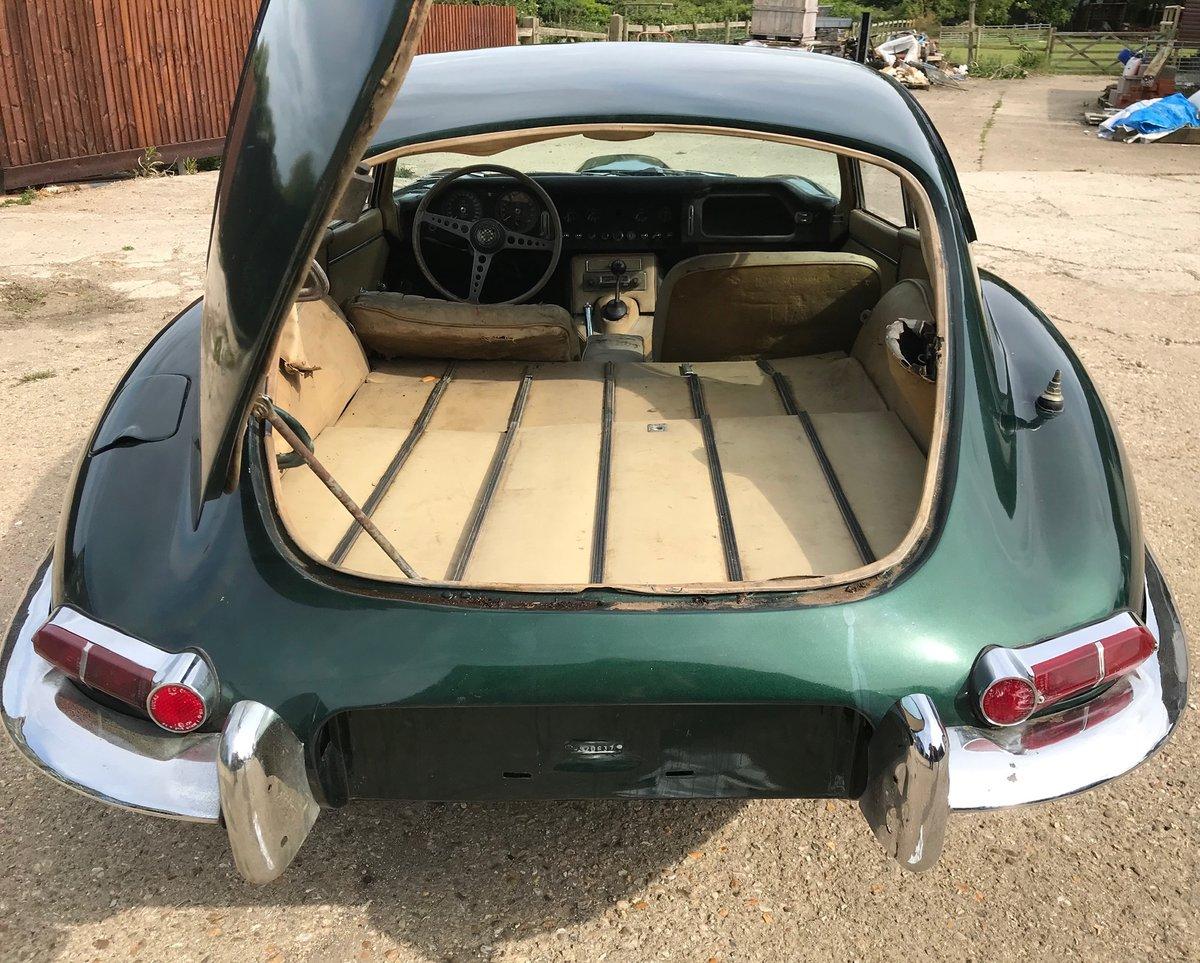 1965 Jaguar E-Type S1 4.2 FHC LHD California car For Sale (picture 4 of 6)