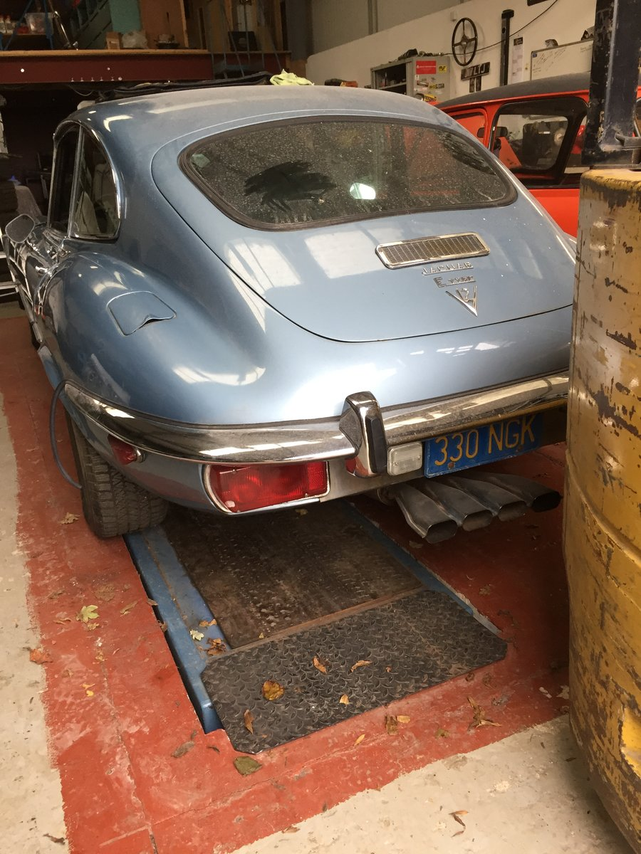 1972 Jaguar E Type V12 Coupe 2+2 Auto - LHD For Sale (picture 3 of 6)