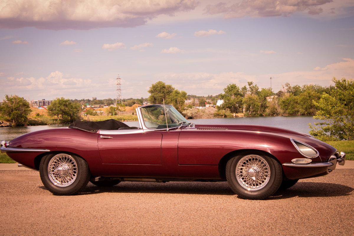 1966 Jaguar XKE Roadster SOLD (picture 5 of 6)