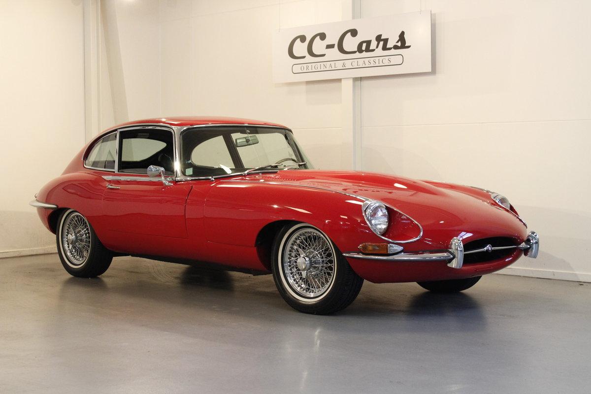 1969 Jaguar E-Type 4,2 2+2 For Sale (picture 1 of 6)