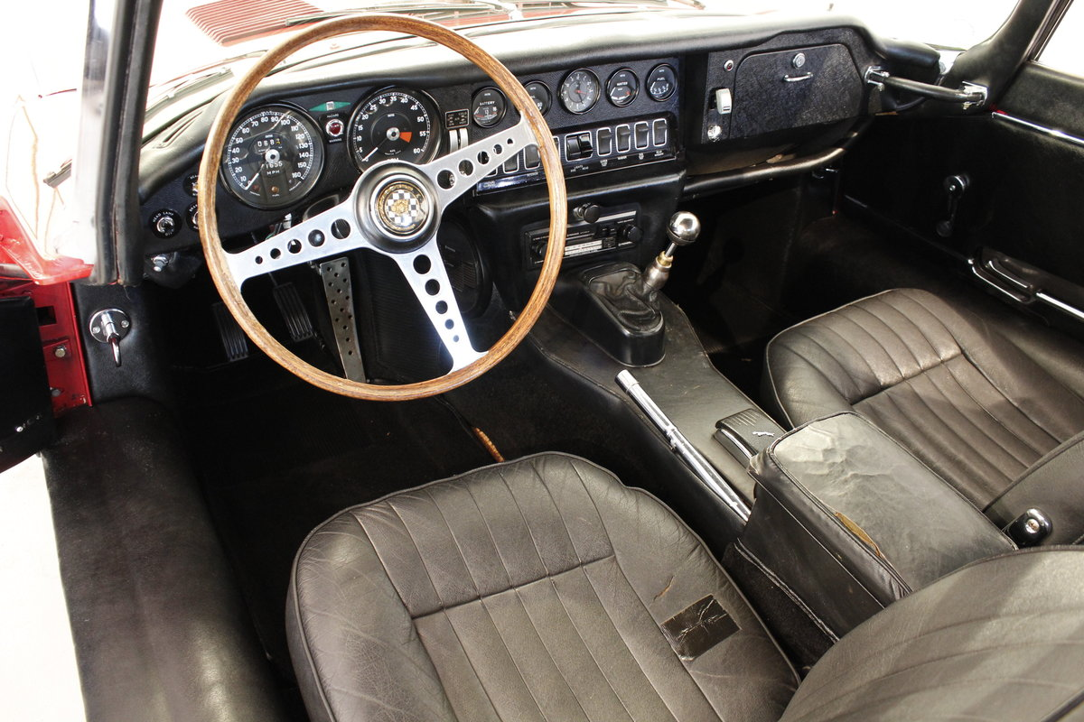 1969 Jaguar E-Type 4,2 2+2 For Sale (picture 4 of 6)