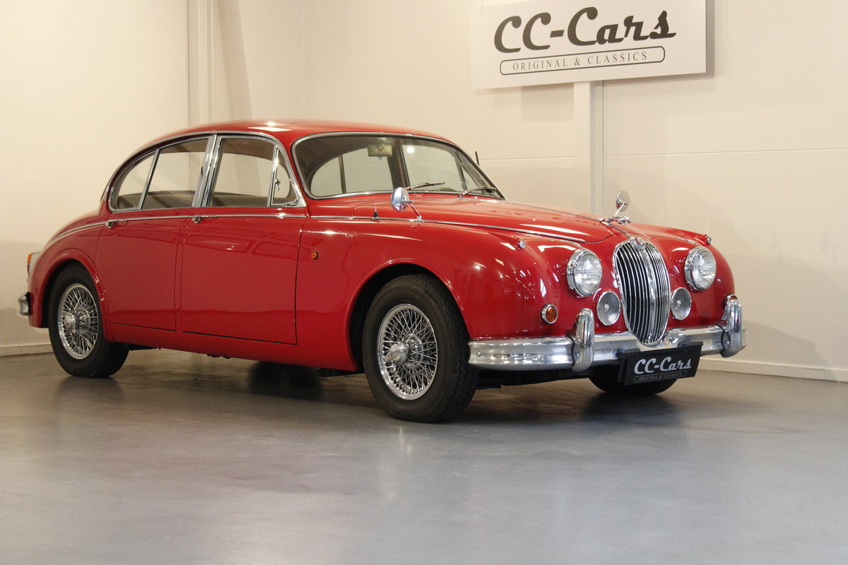 1960 Jaguar MK. II 3,8 Saloon For Sale (picture 1 of 6)
