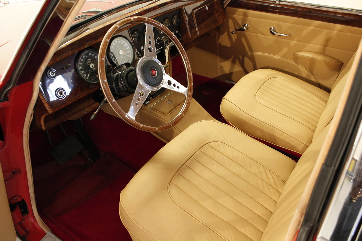 1960 Jaguar MK. II 3,8 Saloon For Sale (picture 4 of 6)