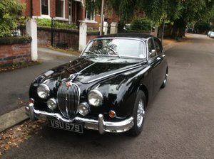1961 Jaguar Mk2 3.4 MOD For Sale