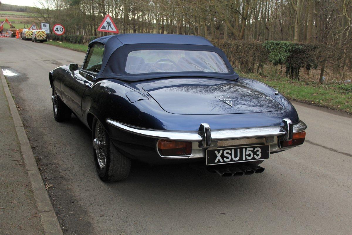 1973 Jaguar E-Type Series III V12 Vicarage Roadster For Sale (picture 4 of 21)